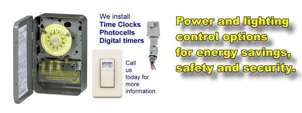 Power and lighting control slide