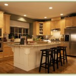 Kitchen lighting and power